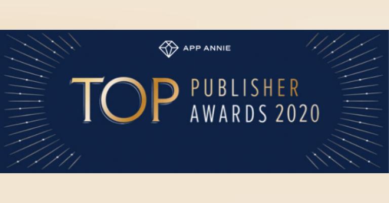 モバイル市場データプラットフォームを提供するApp Annie(アップアニー)が、『トップパブリッシャーアワード2020』の結果を発表、日本企業は、バンダイナムコ、ソニーなど10社がランクイン