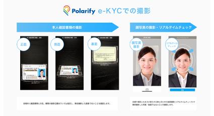 Crezit株式会社、オンライン本人確認サービス「Polarify eKYC」導入