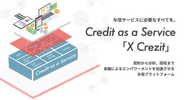 Credit as a Service「X Crezit」