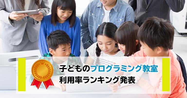 2020年1月~2月 子どものプログラミング教室についてのアンケートを実施、利用率ランキングトップは「レゴスクール」