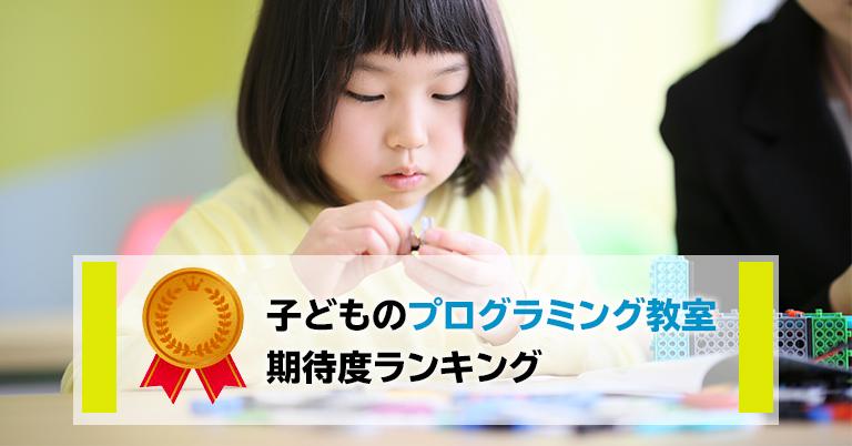 2020年1月~2月 ママが選ぶ子どものプログラミング教室、期待度ランキングトップは「富士通オープンカレッジ F@IT Kids Club」