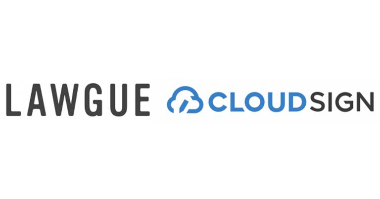 契約書作成システム「LAWGUE」が「クラウドサイン」と連携。オンライン上で契約書の作成から締結までを一気通貫で実現。リモート体制下でもスムーズに