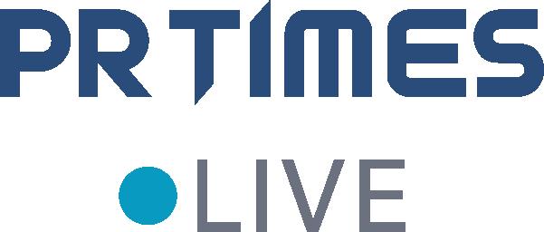 「PR TIMES LIVE」のロゴ画像