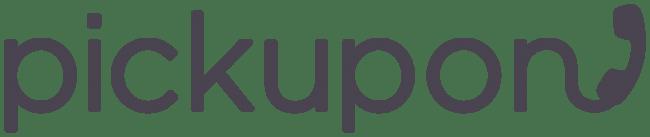 「Pickupon」ロゴ(社名)