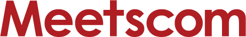 「Meetscom」ロゴ