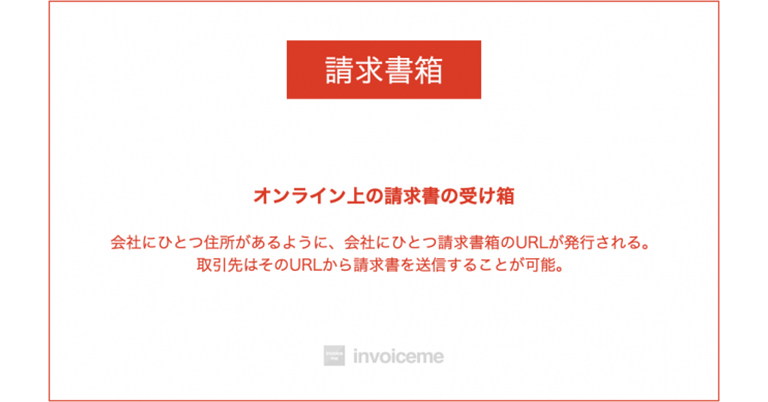 「請求書箱」のinvoiceme(インボイスミー)が日本初リリース!オンライン上の請求書箱が無料で作成可能に。