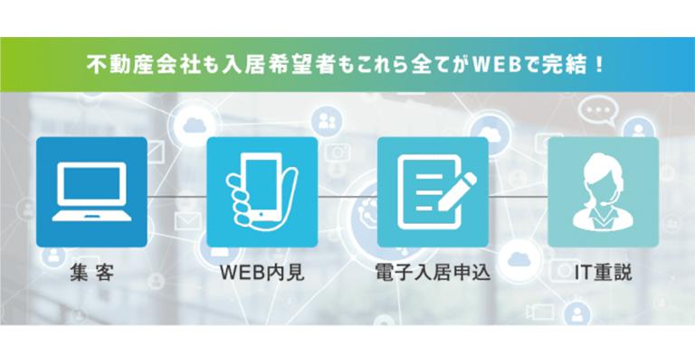 新型コロナウイルス対策として、お部屋探しから契約までの一連の流れをWEB上で完結することのできる「非対面仲介サービス」をリリースしました。~2020年7月末まで利用料無料でご支援します~