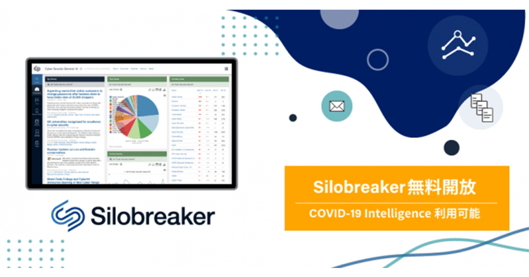 マキナレコード 、新型コロナウイルスに関するインテリジェンスサービスの無償提供をパートナーであるSilobreaker社と開始