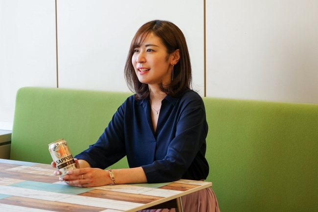 開発ストーリーを語る サッポロビール 新価値開発部 新木 氏-株式会社PR TIMES