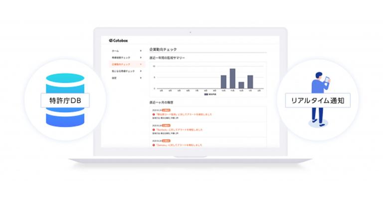 「Cotobox(コトボックス)商標モニタリング」980円/月で提供開始。6月16日より