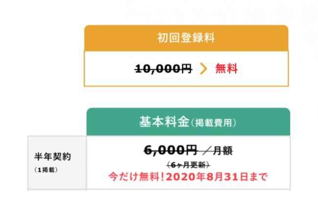 掲載料無料キャンペーンスタート-株式会社M.and.Agency