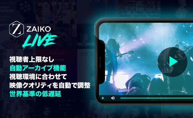 ZAIKO LIVEの主な機能-ZAIKO株式会社