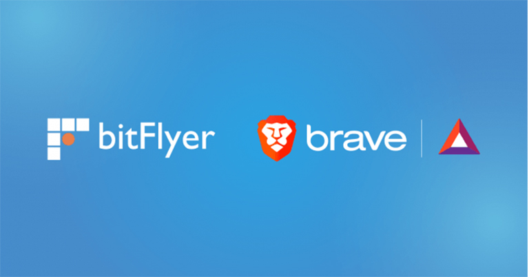 bitFlyer と次世代高速ブラウザ Brave が暗号資産(仮想通貨)ウォレットを共同開発 日本初 Brave ブラウザで暗号資産 BAT の受取・利用が可能に