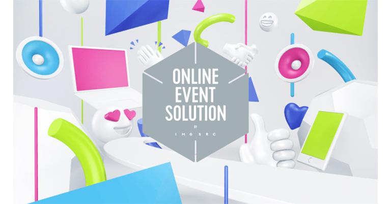 少人数グループ参加に特化したオンラインイベントのための双方向ライブコミュニケーションツール『ONLINE EVENT SOLUTION by IMG SRC』をイメージソースが独自開発