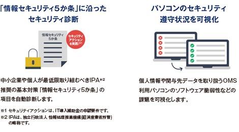 事務所内のセキュリティ対策状況を可視化-株式会社TKC