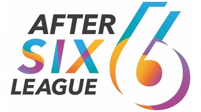社会人eスポーツリーグ「AFTER 6 LEAGUE™」 ロゴ-凸版印刷株式会社