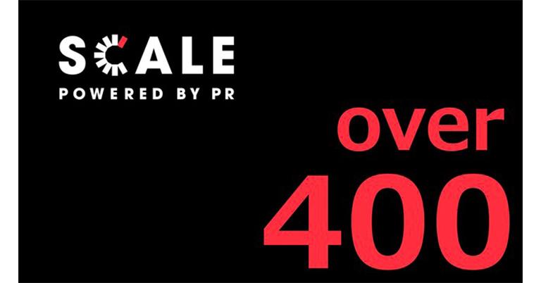 成長型PR人材データベース「SCALE Powered by PR」が開始5ヶ月で登録者数400名を突破