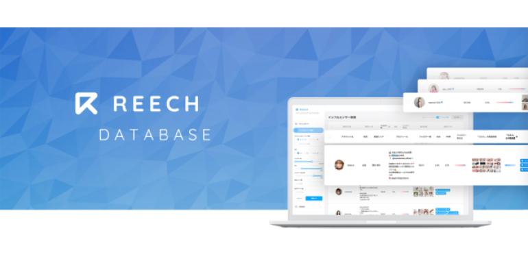 インフルエンサーマーケティングの「REECH」、インフルエンサー検索・管理の新サービス「REECH DATABASE」をリリース