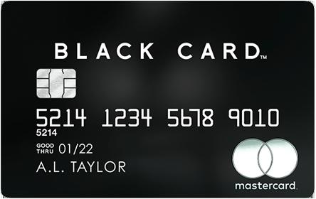 ラグジュアリーカード ブラックカード