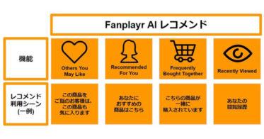Google人工知能を利用したAI レコメンド いよいよリリース!~顧客体験データをもとにFanplayr(ファンプレイヤー)が提供~