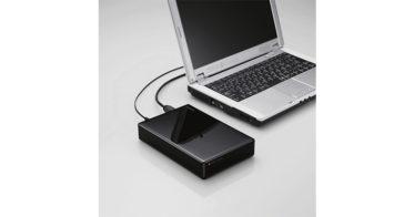 SeeQVault(シーキューボルト)対応 外付けハードディスクをエレコムが発売