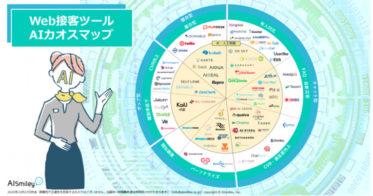 AIポータルメディア「AIsmiley」がWeb接客ツールAIカオスマップを公開