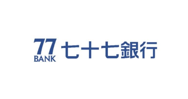 77bank 七十七銀行 ロゴ 画像