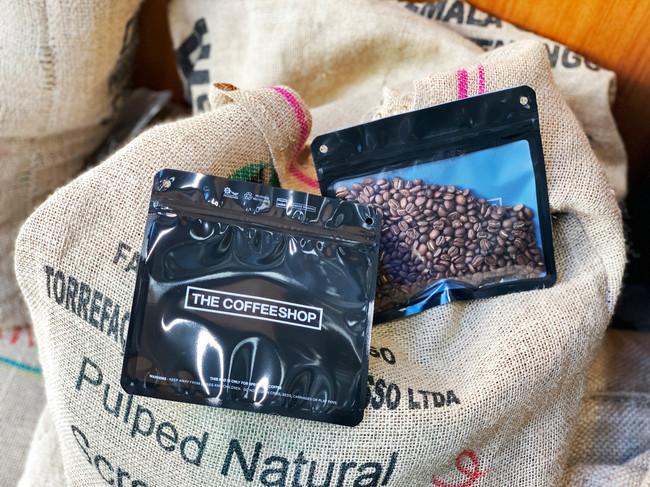 THE COFFEESHOPオリジナルのコーヒー豆保存バッグ「pake」-NKC ASIA