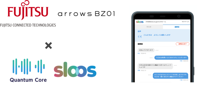Sloos 富士通関連会社と共同販売開始