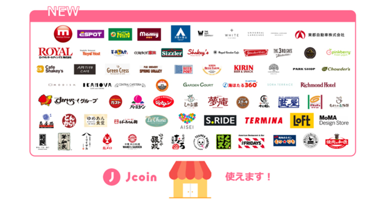 『J-Coin Pay』、新たに全国約17,000店舗・台でご利用可能に!