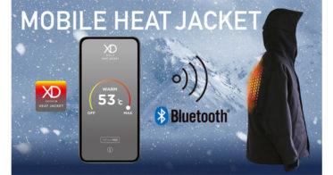 【サードオフィス】スマホで温度調節可能!最強のアウター「HEAT JACKET」誕生