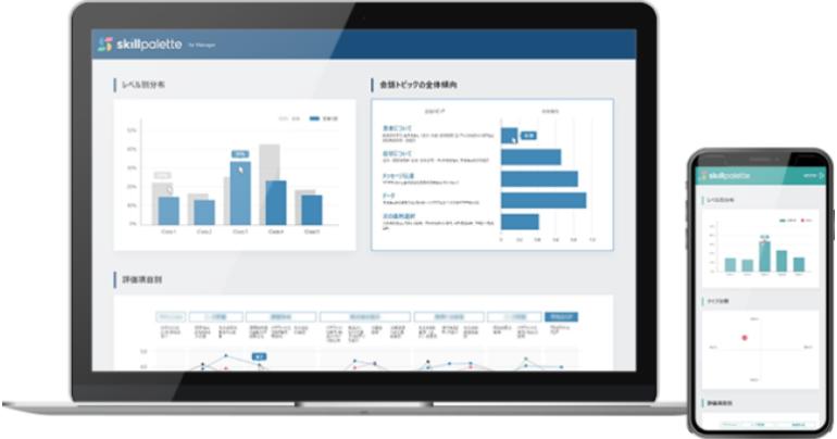 リープ株式会社が人工知能「KOTORI」をエンジンとしたAIによるMR/MSL/マネージャーの情報提供スキル可視化サービス「Skill Palette」の提供を開始