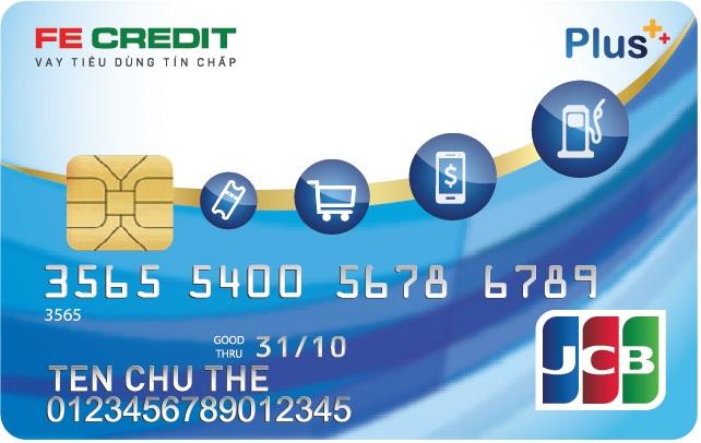 FE Credit JCB Plus Card券面デザイン-JCB