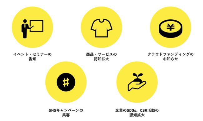 ご利用用途-Tomoshi Bito株式会社