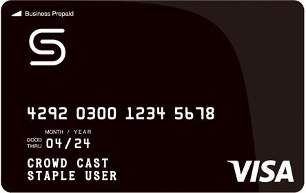 Staple カード