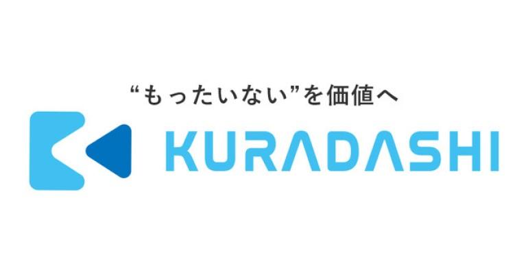 社会貢献型フードシェアリングプラットフォーム「KURADASHI」のロゴ 画像
