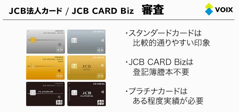 JCB 法人カード 審査