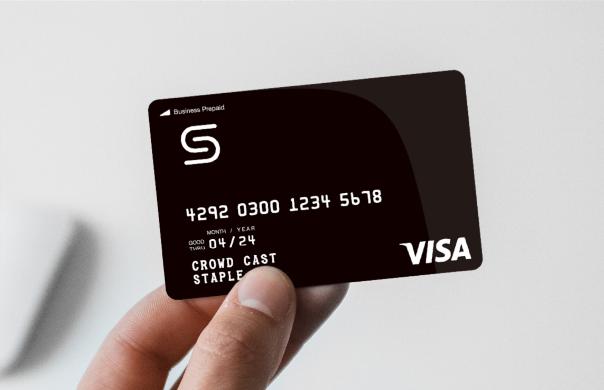 法人プリペイドカード「Staple カード」とは-クラウドキャスト株式会社