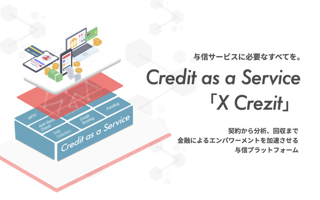 Credit as a Serviceについて-Crezit株式会社