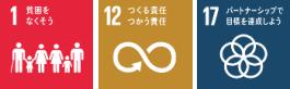 SDGsの「1.貧困をなくそう」「12.つくる責任つかう責任」「17.パートナーシップで目標を達成しよう」の3つのゴールに寄与-三井住友カード株式会社