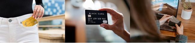ラグジュアリーカードのGold Card、Black Card, Titanium Card