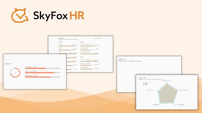 セカンドサイト株式会社が人材解析サービス「SkyFox HR」β版の提供を開始した