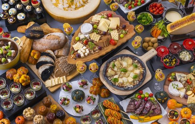 ヒルトン福岡シーホーク、ハロウィンスイーツが楽しめる「チーズフル・ハロウィン・ビュッフェ」を開催