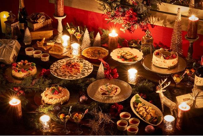 ヒルトン成田「テラス レストラン クリスマスシーズン2021」を開催