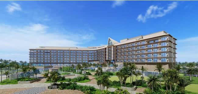 「ヒルトン沖縄宮古島リゾート」、三菱地所・鹿島初のビーチリゾートホテルとして2023年開業に向け着工