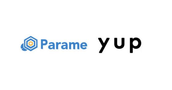 ファクタリングサービス『先払い』のyup株式会社と推薦ビジネスSNSサービス『Parame』の株式会社Parameが提携開始
