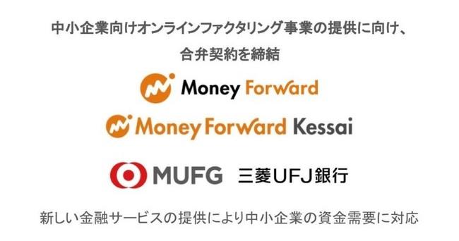 株式会社マネーフォワード、マネーフォワードケッサイ株式会社、株式会社三菱UFJ銀行が中小企業向けオンラインファクタリング事業会社「株式会社Biz Forward」設立のため契約締結