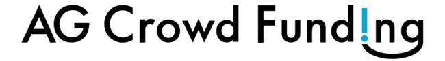 AGクラウドファンディングのロゴ画像
