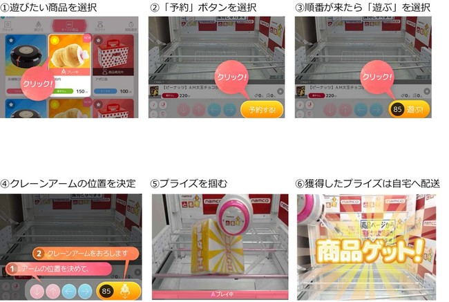 「楽天コレクション オンラインクレーン Powered by とるモ」のプレイイメージ