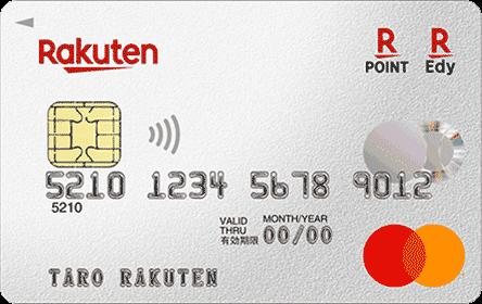 楽天カード Visaの券面画像